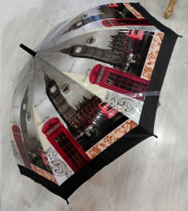 Moda y ropa de Vitoria: Paraguas Estilo Londres en la tienda Exclusivos de la Calle Gorbea