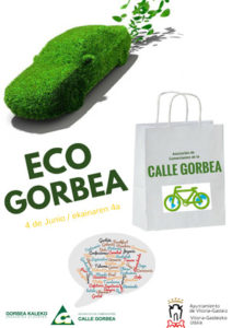 Ecogorbea. Calle Gorbea. Vitoria. Ecología
