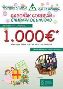 Calle Gorbea, 1000 euros