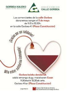 donación sangre vitoria calle gorbea