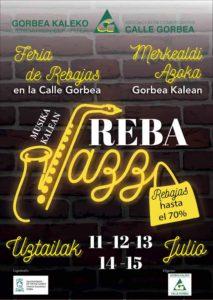 Rebajas con Jazz en la Calle,, Vitoria, Calle Gorbea