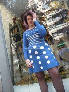 vestido de punto vitoria