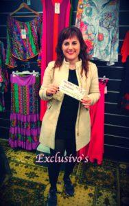 Entrega del premio de Exclusivos Moda en Vitoria