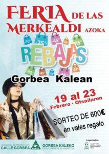 Feria Rebajas Vitoria Gorbea
