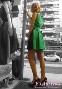 vestido invitada lowcost para gasteiz