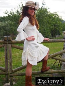 Vestido de novia alternativa