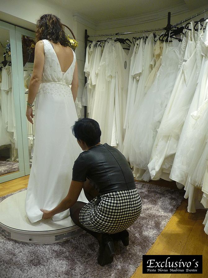 Prueba de vestido de novia Vitoria
