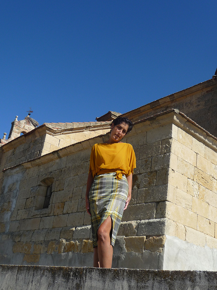Vestido Mostaza Vitoria