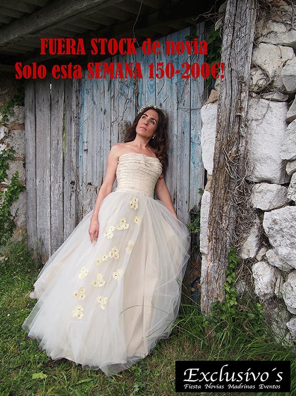 Vestido de novia barato Vitoria