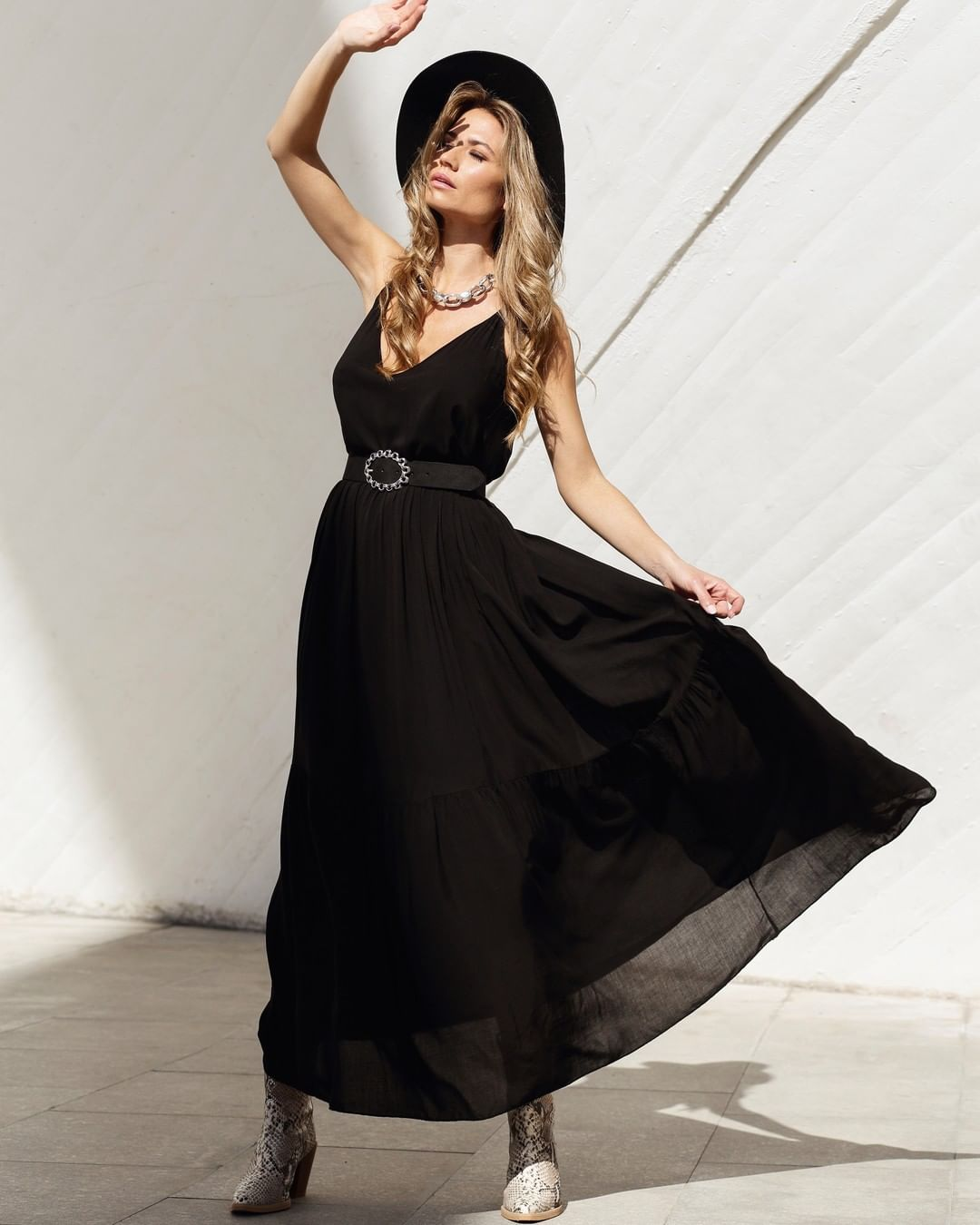 Vestido negro primavera vitoria
